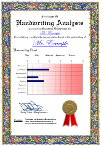 handwriting analysis examples