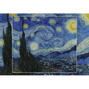 Wooden Jigsaw Puzzle - Premier #2 - Starry Night by Van Gogh