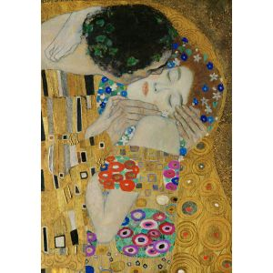 Wooden Jigsaw Puzzle - Premier #5 - The Kiss (Detail) by Gustav Klimt