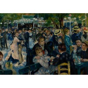 Wooden Jigsaw Puzzle - Premier #7 - Dance at Le moulin de la Galette by Renoir
