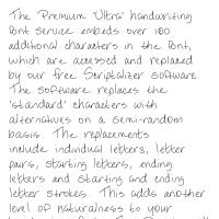 Premium 'Ultra' Font 21SL Download