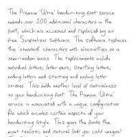 Premium 'Ultra' Font 26SL Download