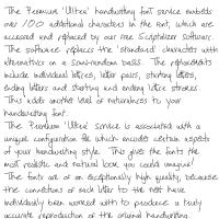 Premium 'Ultra' Font 40SL Download