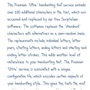 Premium 'Ultra' Font 42 Download