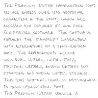 Premium 'Ultra' Font 51SL Download