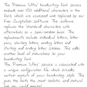 Premium 'Ultra' Font 54SL Download