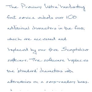 Premium 'Ultra' Font 6 Download
