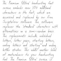 Premium 'Ultra' Font 60SL Download