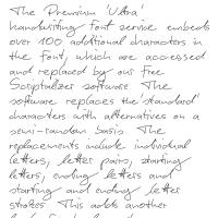 Premium 'Ultra' Font 63SL Download