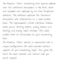 Premium 'Ultra' Font 72SL Download