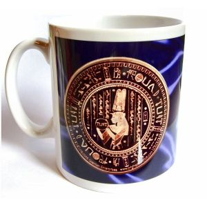'Original' Round Tuit Blue Satin Collection Mug