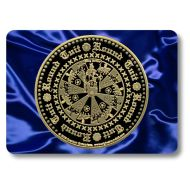 'Original' Round Tuit Blue Satin Collection Place Mat