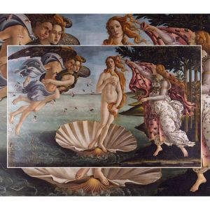 The World's Largest Wooden Jigsaw Puzzle - #3  - The Birth of Venus by Botticelli