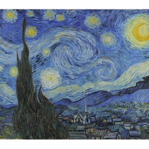 The World's Largest Wooden Jigsaw Puzzle - #2  - 'Starry Night' by Van Gogh