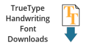 Handwriting Font Downloads