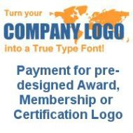 Pre-designed Logo Font (Payment Only)