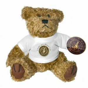 'I finally got A Round Tuit!' 'Original' Round Tuit Cute Teddy Bear