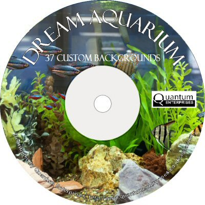 Dream Aquarium - 37 Fish Tank Backgrounds (CD-ROM)