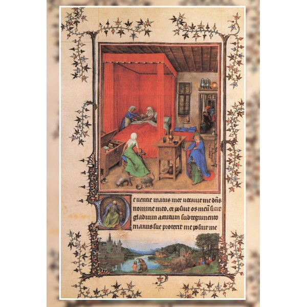 Wooden Jigsaw Puzzle - Fine Art #31 - Birth Of The Baptist by Van Eyck