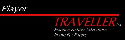 Traveller logo and 'Player'
