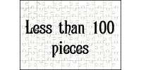 Less than 100 pieces