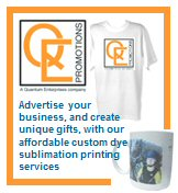 QE Promotions - Custom printed products