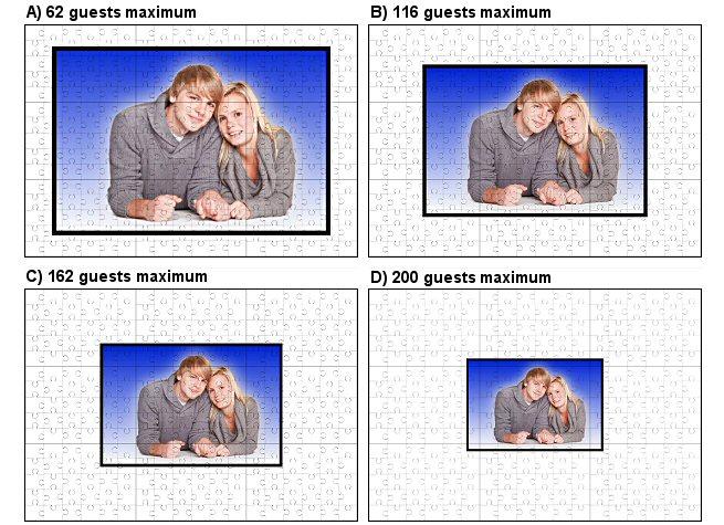 Wedding Gestbook Jigsaw Puzzle option